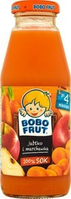 BOBO FRUT SOK JABŁKO MARCHEW 300ML