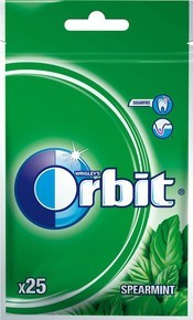 ORBIT SPEARMINT 25 DRAŻETEK 35G
