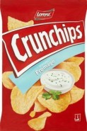 CRUNCHIPS FROMAGE 140G/8