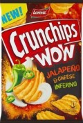 CRUNCHIPS WOW JALAPENO 110G/10